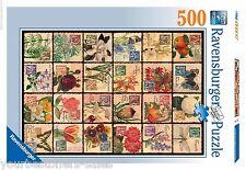 Ravensburger Puzzle 500 Piece Puzzles New Vintage Floral Art Puzzle Kids Adult