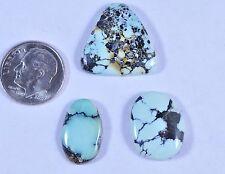 Natural American Rare Gem Grade Nevada Prince Variscite Cabochons 25.3 Carats