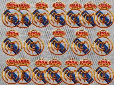 REAL MADRID CF SPANISH LA LIGA FOOTBALL SOCCER CLUB EURO UEFA IRON ON PATCH