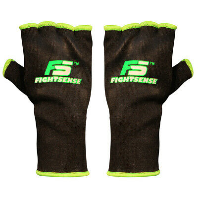 FS Boxing Fist Hand Inner Gloves Bandages MMA Muay Thai Protective Wraps Orange
