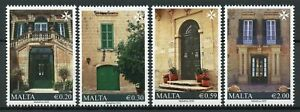 Malta-Architecture-Stamps-2020-MNH-Old-Residential-Houses-Series-II-4v-Set