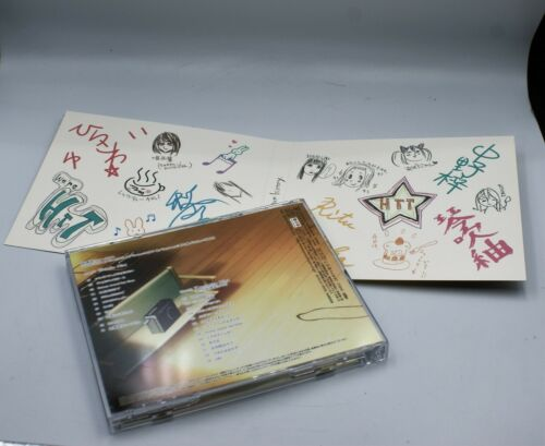 K-ON Houkago Tea Time 2 Very rare Limited Edition CD w//cassette tape Express F//S