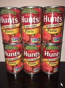 6-Cans-Hunt-039-s-Tomato-Paste-No-Salt-Added-6-Oz