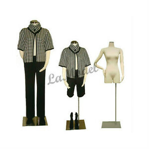 Female Body Dress Form with Flexible Arms, Mannequins Body Form ...