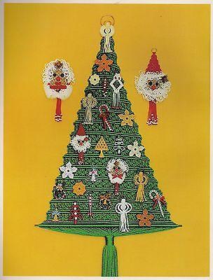 #PD1055 Tis the Season to be Knotting Macrame Christmas Instruction Pattern Book