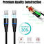 miniature 2 - Magnetic USB Type C Fast Charging Cable Charger Cord For Samsung S8 S9 10 20 21