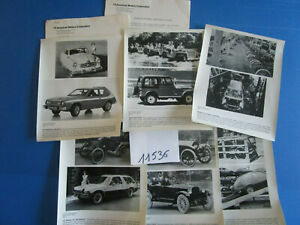 N°11536 / American Motors Corporation 6 Photos ,9 Pages D'informations English