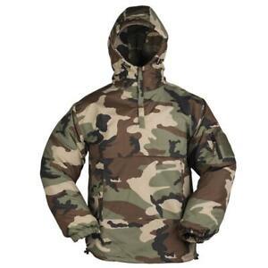 2f11383b327 Details about Mil-Tec Men's Winter Combat Anorak Military Tactical Jacket  Coat Woodland Camo