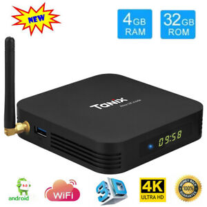 Details about Tanix TX6 - A 6K Smart TV Box Quad Core 4GB 32GB Android 9 0  WiFi Media Player