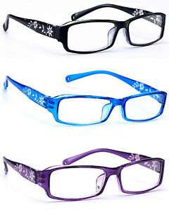 3bf90a513d Women READING GLASSES +0.5 +1.0 +2.0 +3.0 Eyeglasses Slim Frame ...