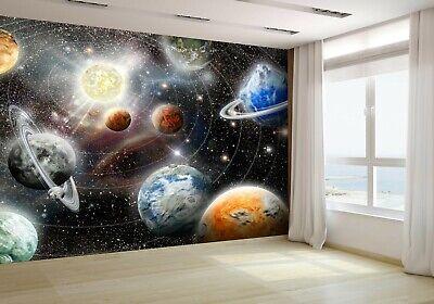 Space Galaxy Stars Wallpaper Mural Photo 46112002 budget paper