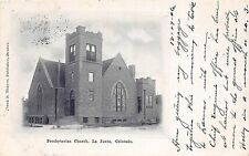 C64/ La Junta Colorado Co Postcard c1910 Presbyterian Church Building