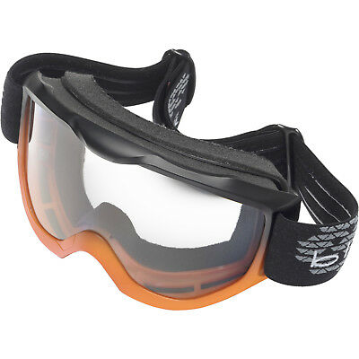 Black Granite Motocross Goggles MX Enduro Off Road Bike MTB Anti Fog Clear Lens