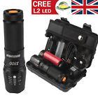 6000lm Genuino Shadowhawk X800 Táctico Linterna L2 LED Militar UK Kit Linterna