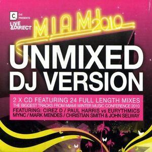Various-Artists-CR2-presents-Live-amp-Direct-Miami-2010-Unmixed-DJ-Format-CD