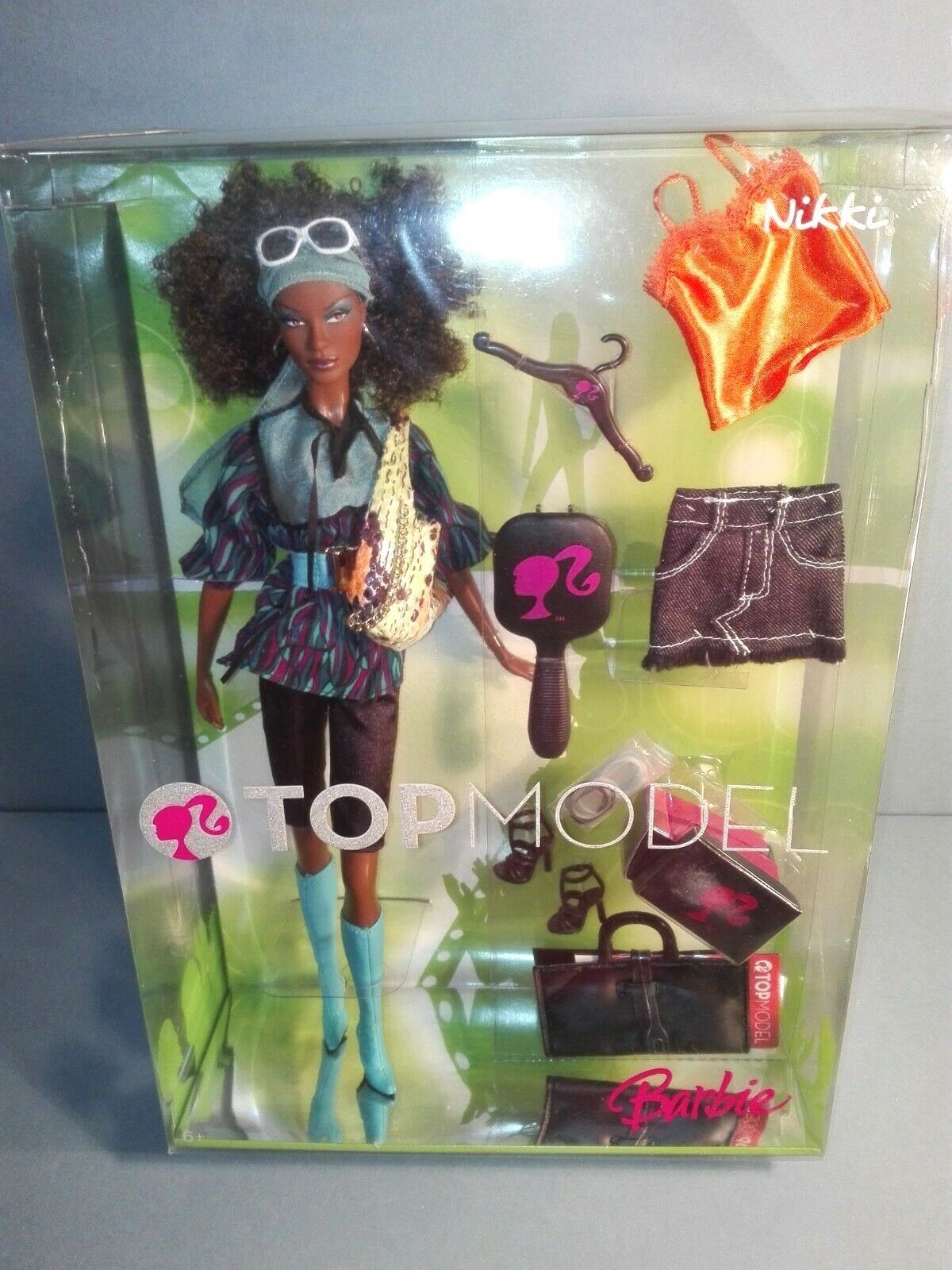 BARBIE TOP MODEL NIKKI NRFB - model muse doll collection Mattel