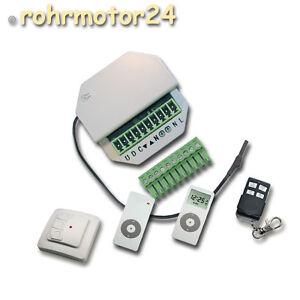 rmf r1 up funk empf nger steuerung rolladenantrieb rollo motor jalousie antrieb ebay. Black Bedroom Furniture Sets. Home Design Ideas