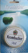 KROMBACHER KRONENKORKEN ÖFFNER-IN OVP-TOP-ca 7 cm-TOLLES TEIL-KROMBACHER BIER-