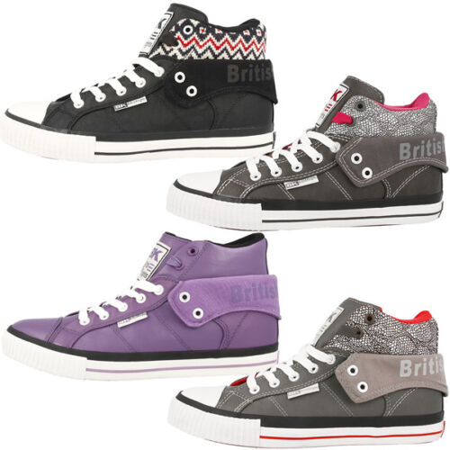 British Knights roco women chaussures HIGH top sneaker b32-3733 Dee Douglas ATOLL