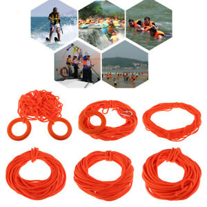 30m Water Rescue Lifeguard Life Saving Throw Rope Safety Swimming Pool Line