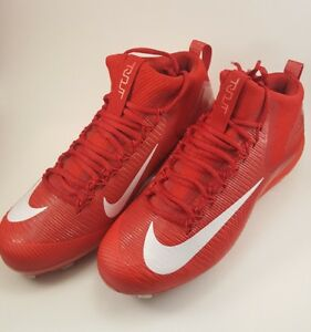 a29d7f02a07c Nike Force Zoom Trout 3 Red White Metal Baseball Cleats NEW SZ 11.5 ...