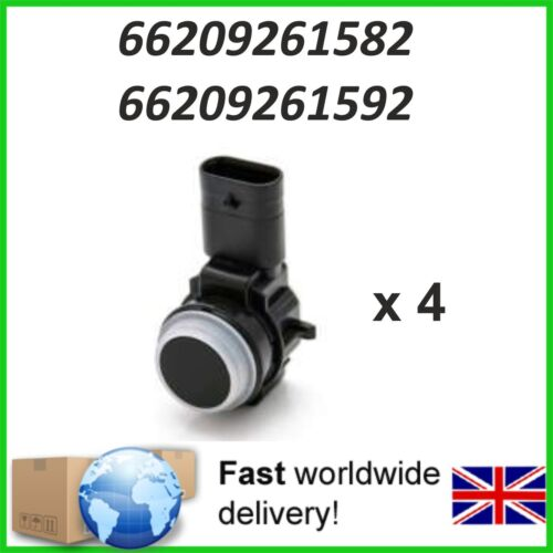 4 X Parking PDC Sensor BMW 1 Series 3 Series 4 Series 66209261592  66209261582