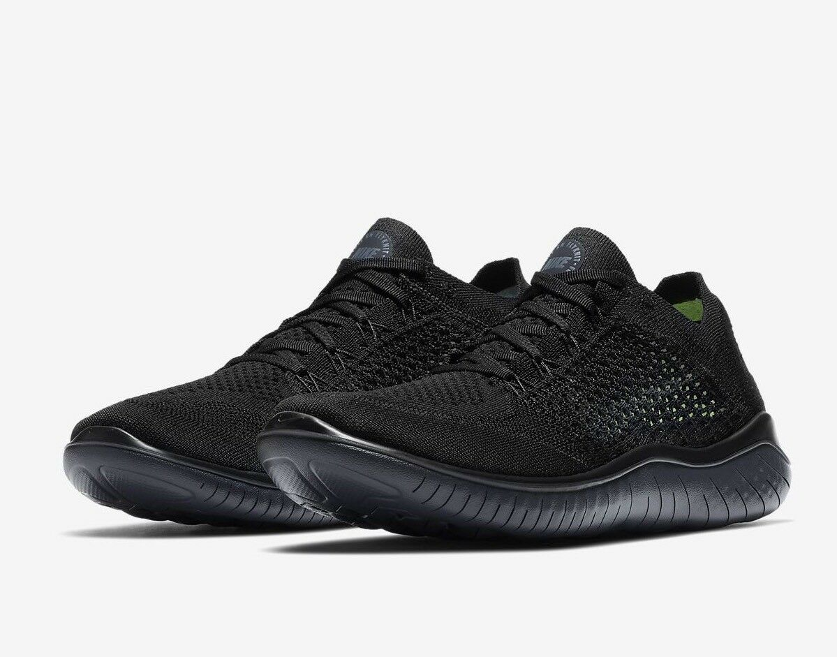 Nike Free RN Flyknit 2018 homme fonctionnement chaussures 942838-002 noir9 EU 44 US 10