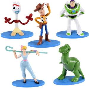 Toys-Story-4-Set-De-5-Figurines-Disney-Pixar-Hauteur-6-7-Cm