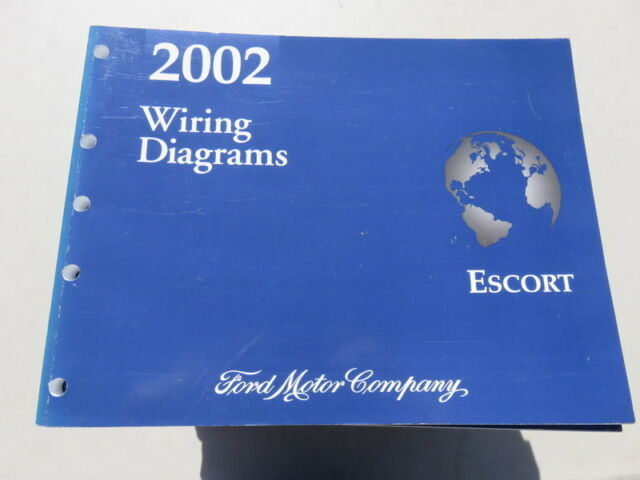 2002 Ford Escort Electrical Wiring Diagrams Factory OEM ...