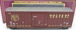 MTH-PREMIER-WISCONSIN-CENTRAL-50-HIGH-CUBE-BOX-CAR-BERWICK