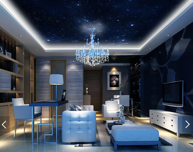3D Night Sky Stars 78 Wall Paper Wall Print Decal Wall Deco AJ WALLPAPER Summer