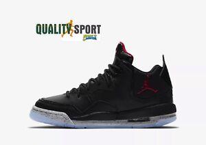 separation shoes c7452 79f4f Details zu Nike Jordan Spielfeldrand 23 schwarz Schuhe Junge Turnschuhe  AR1002 023
