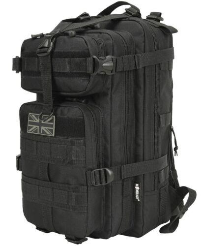 Black Kombat Stealth 25 Litre back pack military army style daysack