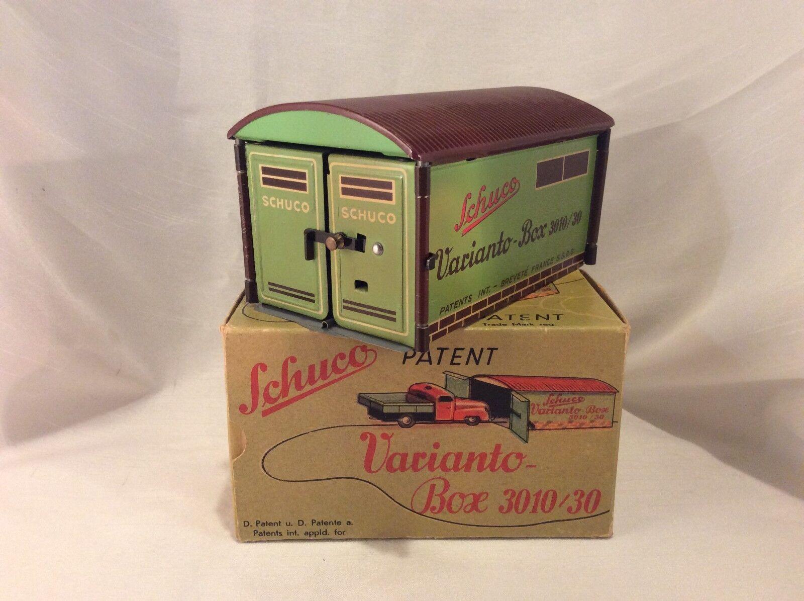 Schuco Varianto Box 3010 30 Garage ovp