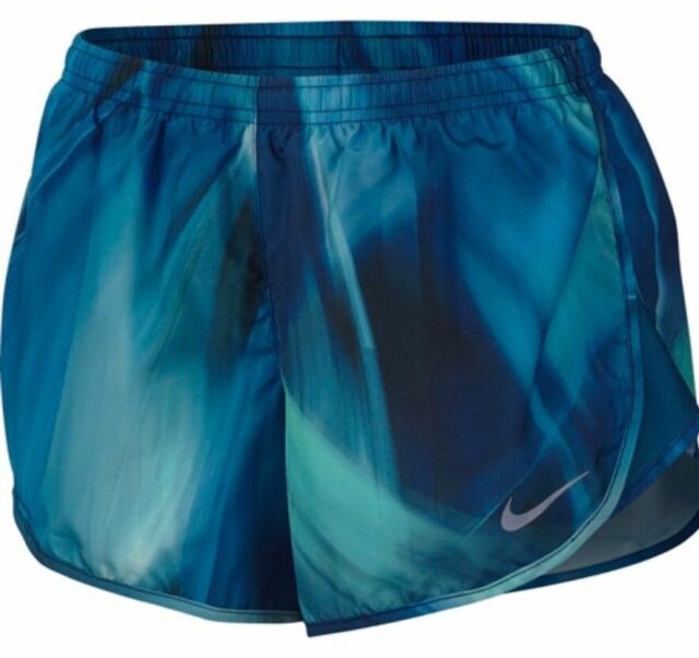 c9d766fddef8 Nike Women s Dri-fit Modern Tempo Running Shorts Size S Blue Aa4426 ...