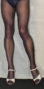 de869fb760ed8 Dark Navy Nurse Style 15 Denier Sheer To The Waist High Quality ...