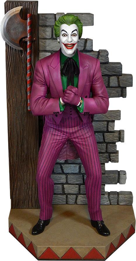 BATMAN - 1966 Joker 14  Maquette Diorama Statue (Tweeterhead)  NEW