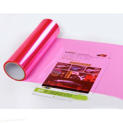 Car Headlight Taillight Fog Light Sticker Tint Protector Film Vinyl Wrap Decals