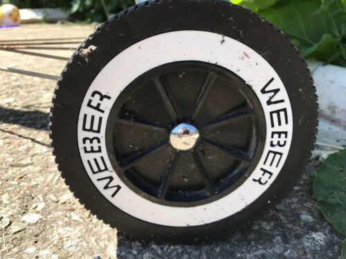 Weber grill wheel chrome hub caps hubcaps and Leg Cover Charcoal BBQ grill