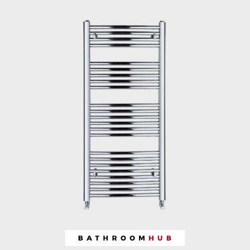 Improv Beta 1100 Towel Bathroom Radiator Chrome - Genuine