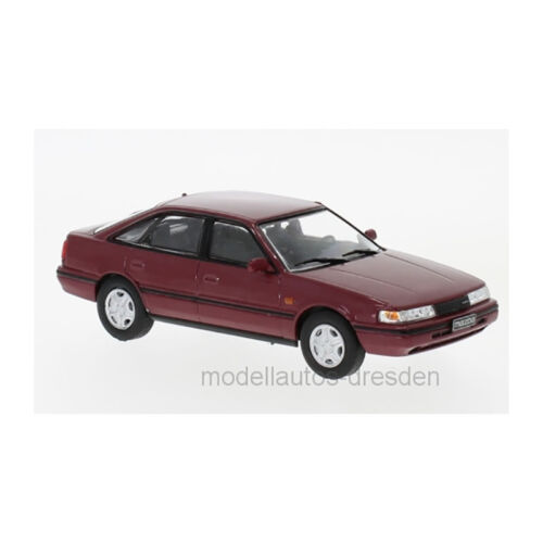 Whitebox wb231 Mazda 626 rojo oscuro metalizado escala 1:43 ° nuevo 216003