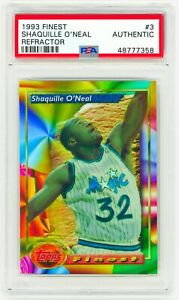 SHAQUILLE-O-039-NEAL-1993-Topps-Finest-3-REFRACTOR-PSA-AUTHENTICATED