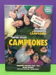 CAMPEONES-DVD-EDICIoN-LIMITADA-2-DISCOS-NUEVO-PRECINTADO