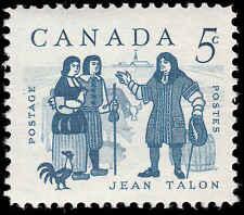 Scott # 398 - 1962 - ' Jean Talon & Settlers '