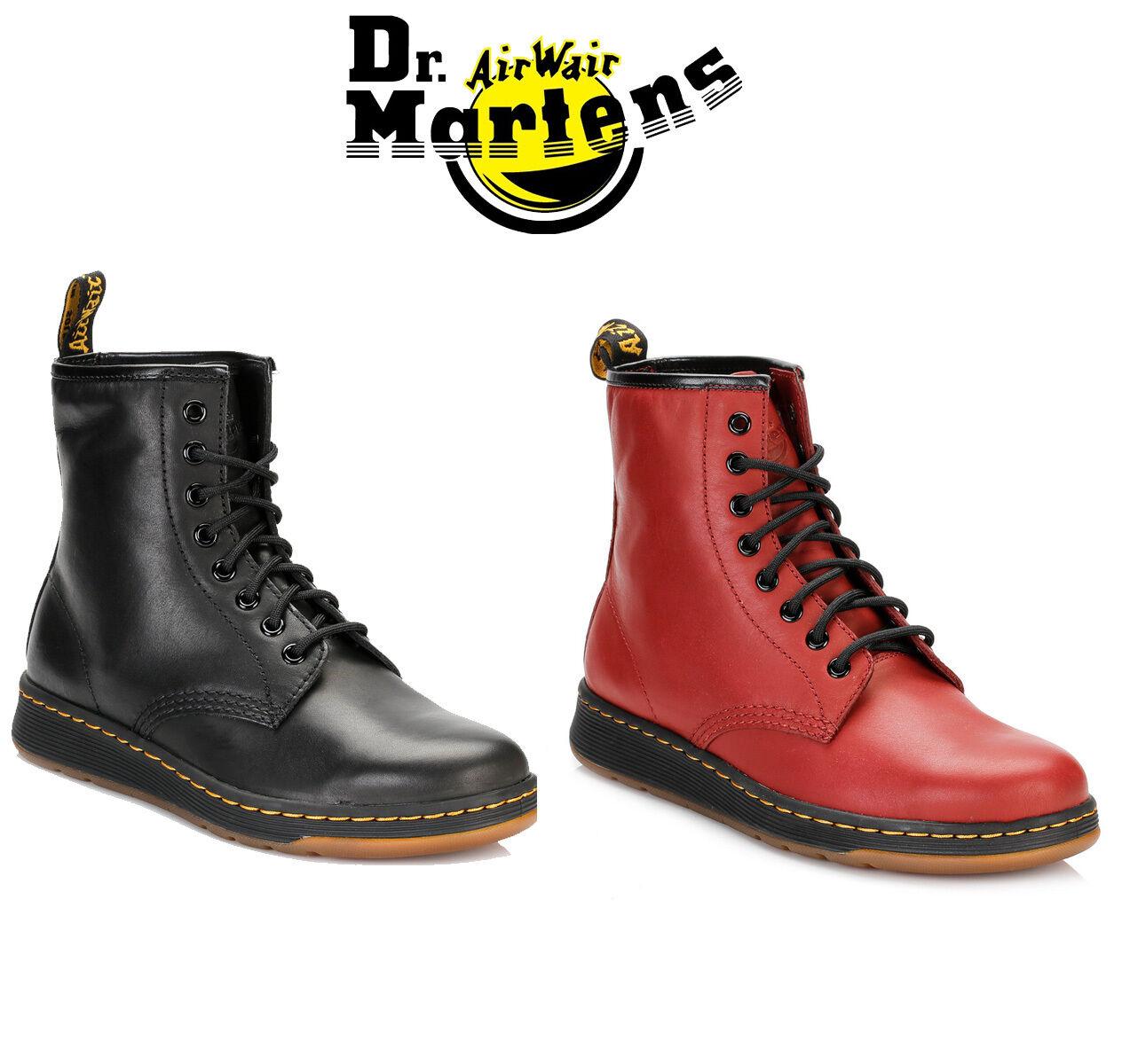 Dr Martens Unisex 1460 schwarz or ROT Ankle Stiefel, Mens Damenschuhe Leder Schuhes