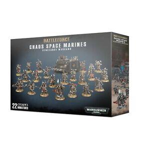 Chaos-Space-Marines-Vengeance-Warband-Battleforce-Warhammer-40K-NIB