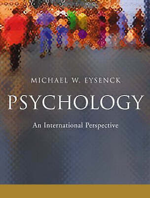 Psychology: An International Perspective-ExLibrary