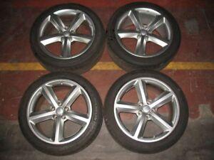 Original-Audi-RS4-8H-Cabrio-Aluradsatz-18-034-mit-Sommerreifen-Michelin-Pilot-Sport