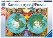 PUZZLE RAVENSBURGER 3000 Pezzi MAPA ANTICO 17074 Antique Mappa PIECES JIGSAW
