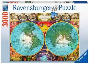 Ravensburger 17074 mapa antiguo puzzle de 3000 piezas antique world la imagen se est cargando ravensburger 17074 mapa antiguo puzzle de 3000 piezas gumiabroncs Images